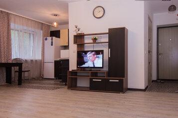 2-комн. квартира, 47 кв.м. на 4 человека, улица Некрасова, Железнодорожный округ, Хабаровск - Фотография 4