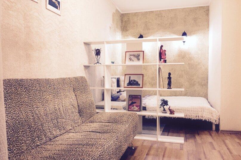 1-комн. квартира, 34 кв.м. на 4 человека, Перелета, 20, Омск - Фотография 1