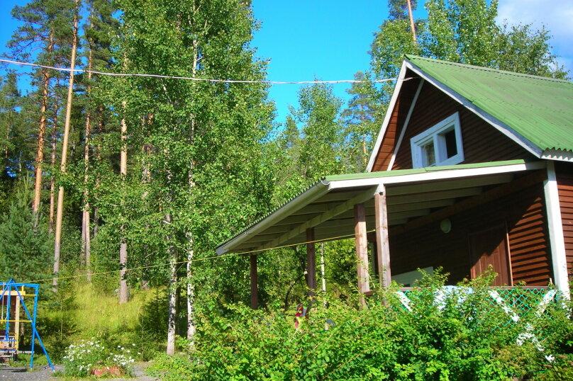 Домик, 50 кв.м. на 5 человек, 2 спальни, Малиновая, 48, посёлок Нигозеро, Кондопога - Фотография 2