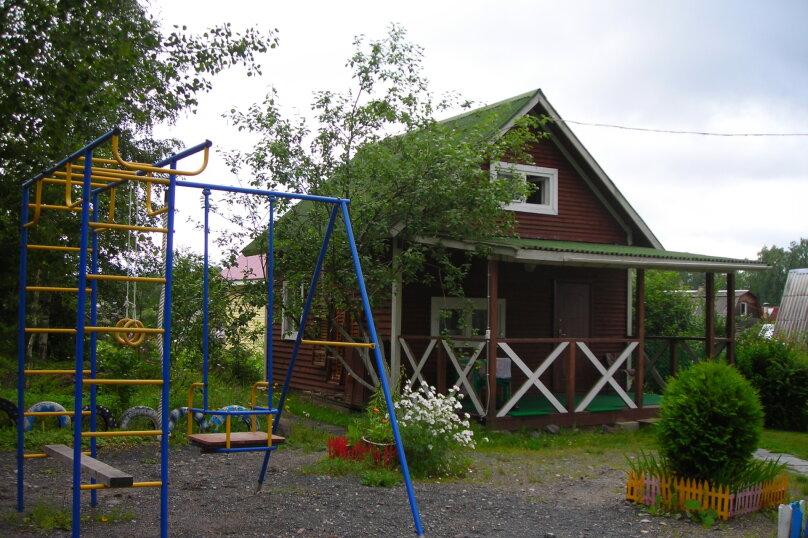Домик, 50 кв.м. на 5 человек, 2 спальни, Малиновая, 48, посёлок Нигозеро, Кондопога - Фотография 3