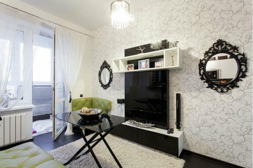 1-комн. квартира, 56 кв.м. на 3 человека, улица Папанина, 18, Екатеринбург - Фотография 6