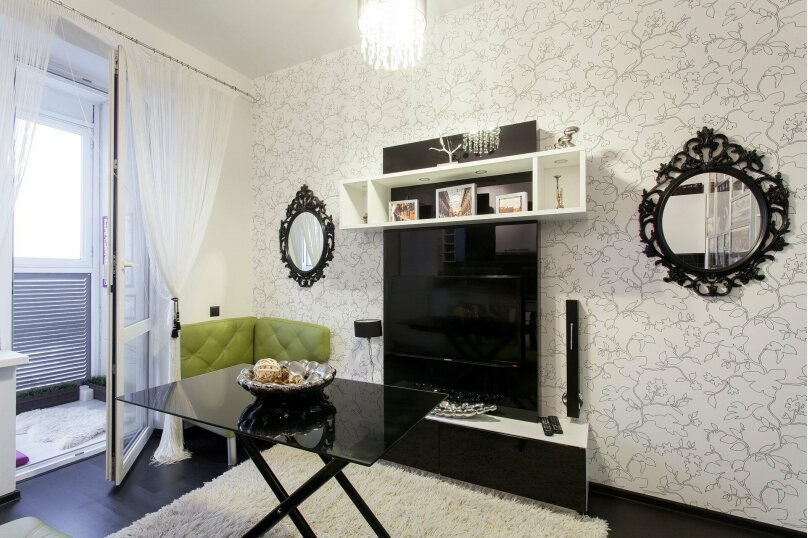 1-комн. квартира, 56 кв.м. на 3 человека, улица Папанина, 18, Екатеринбург - Фотография 8