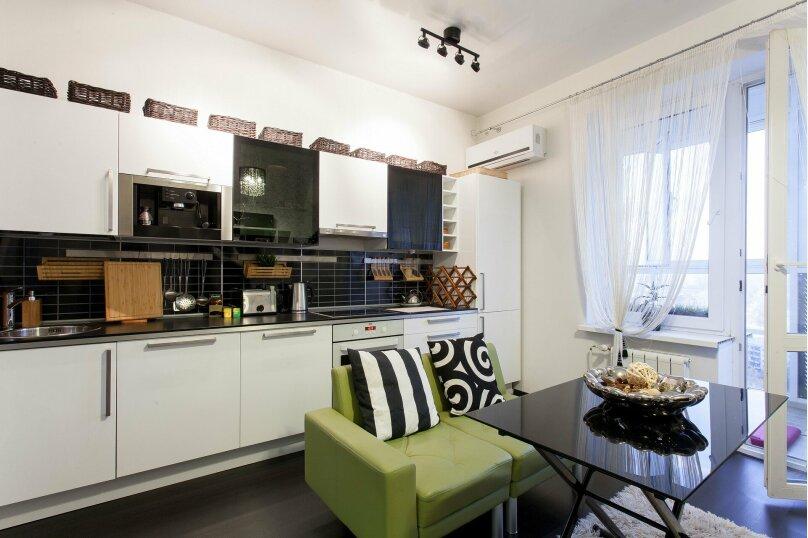 1-комн. квартира, 56 кв.м. на 3 человека, улица Папанина, 18, Екатеринбург - Фотография 10