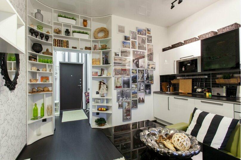 1-комн. квартира, 56 кв.м. на 3 человека, улица Папанина, 18, Екатеринбург - Фотография 12
