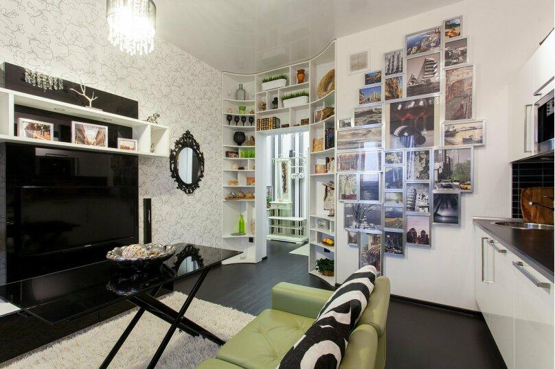 1-комн. квартира, 56 кв.м. на 3 человека, улица Папанина, 18, Екатеринбург - Фотография 35