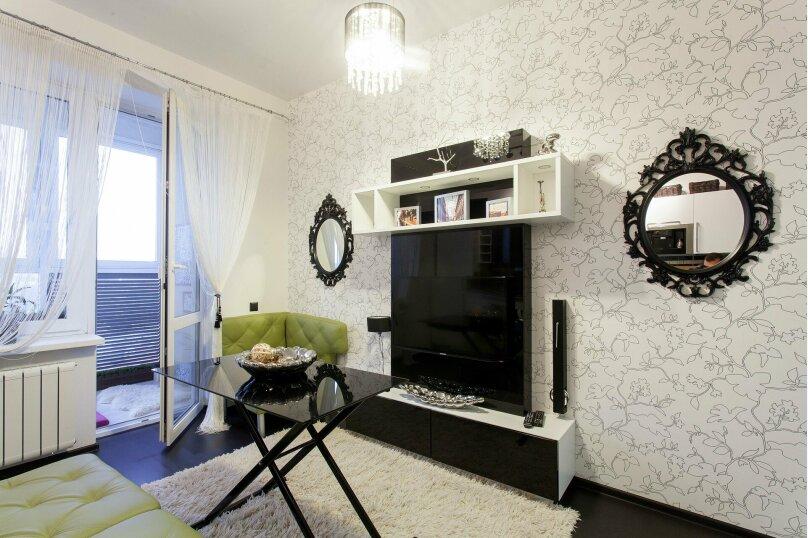1-комн. квартира, 56 кв.м. на 3 человека, улица Папанина, 18, Екатеринбург - Фотография 37