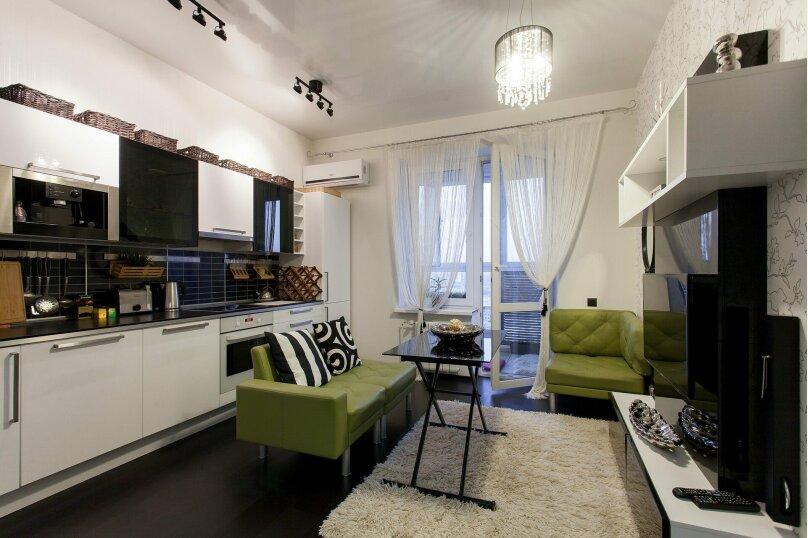 1-комн. квартира, 56 кв.м. на 3 человека, улица Папанина, 18, Екатеринбург - Фотография 16