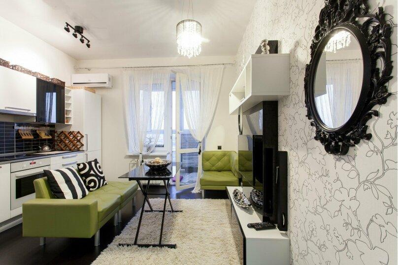 1-комн. квартира, 56 кв.м. на 3 человека, улица Папанина, 18, Екатеринбург - Фотография 17