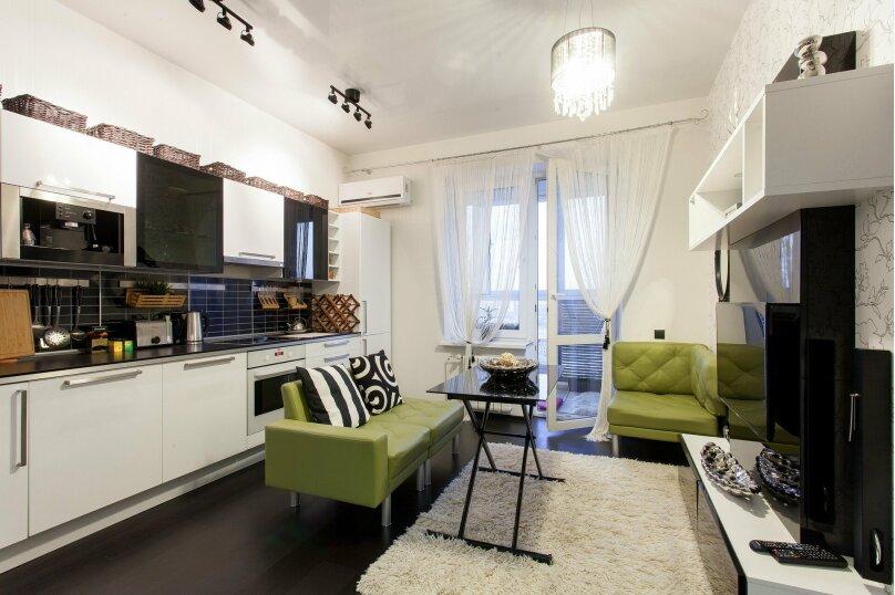 1-комн. квартира, 56 кв.м. на 3 человека, улица Папанина, 18, Екатеринбург - Фотография 18
