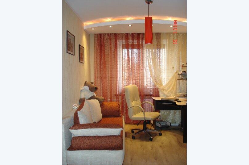 2-комн. квартира, 55 кв.м. на 4 человека, проспект Льва Ландау, 16, Харьков - Фотография 1