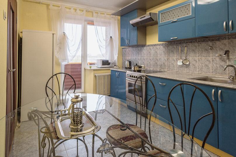 3-комн. квартира, 85 кв.м. на 5 человек, Молодёжный бульвар, 13, Тольятти - Фотография 8