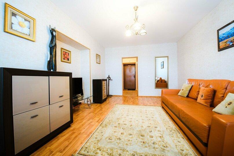 2-комн. квартира, 58 кв.м. на 4 человека, Новомостовая улица, 8, Уфа - Фотография 4