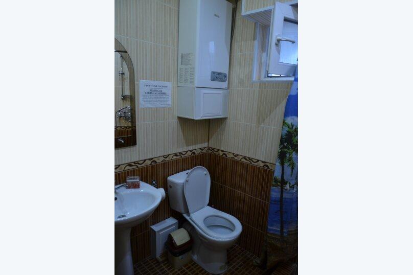 Двухуровневый коттедж у моря, 25 кв.м. на 3 человека, 1 спальня, улица Горького, 5, Алушта - Фотография 6