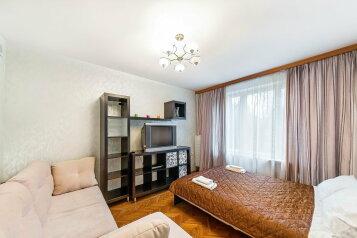 1-комн. квартира, 35 кв.м. на 4 человека, проспект Вернадского, метро Юго-Западная, Москва - Фотография 1