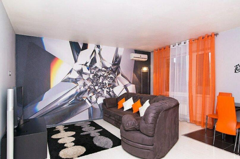 2-комн. квартира, 59 кв.м. на 5 человек, улица Газеты Звезда, 27, Пермь - Фотография 2