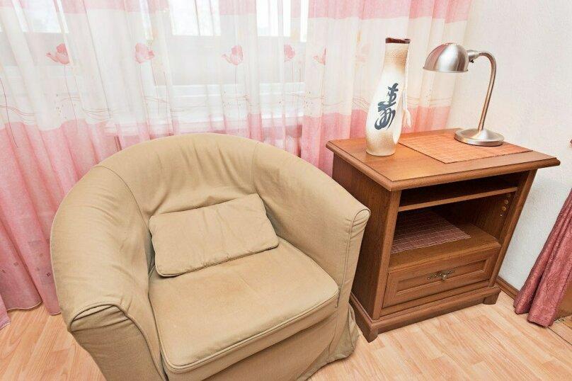 1-комн. квартира, 39 кв.м. на 3 человека, улица Луначарского, 66, Пермь - Фотография 5