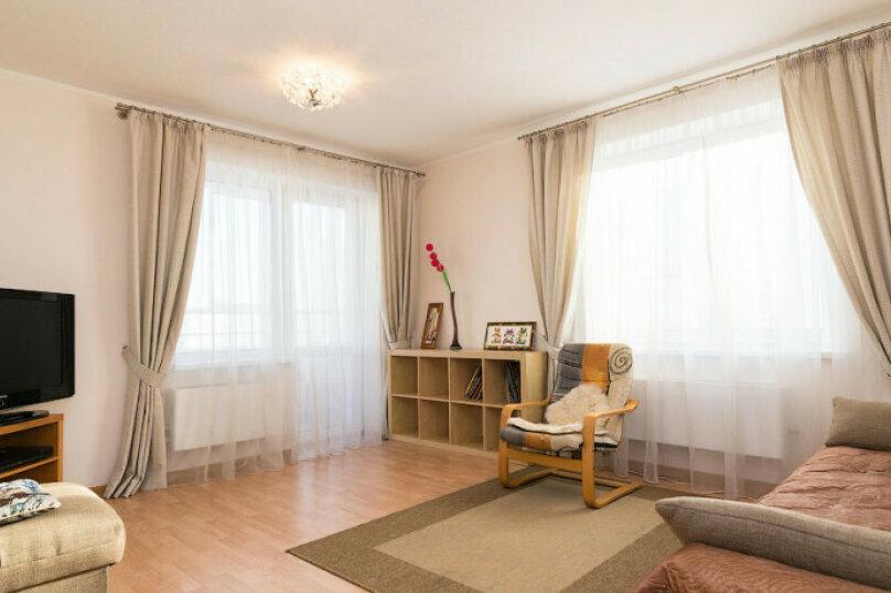 2-комн. квартира, 57 кв.м. на 5 человек, Монастырская улица, 41, Пермь - Фотография 2