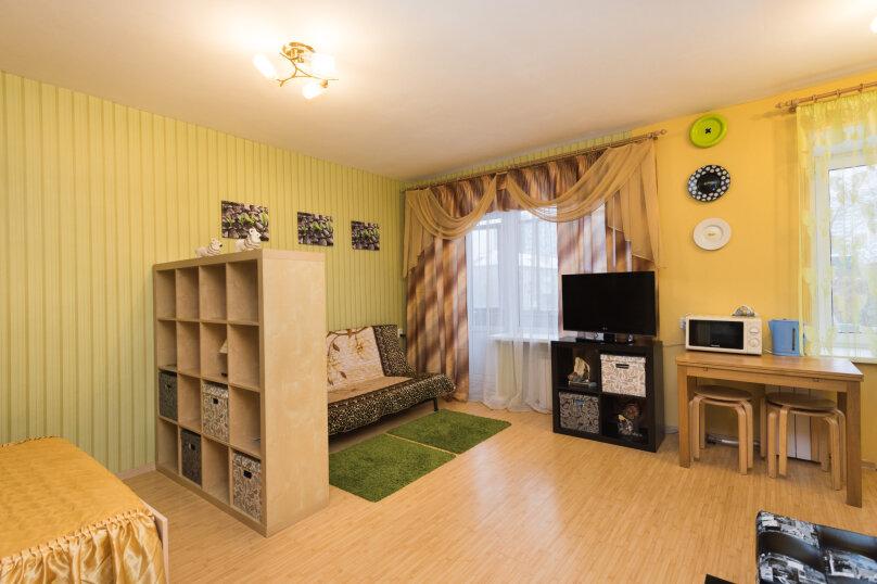 1-комн. квартира, 34 кв.м. на 4 человека, улица Попова, 25, метро Площадь 1905 года, Екатеринбург - Фотография 3