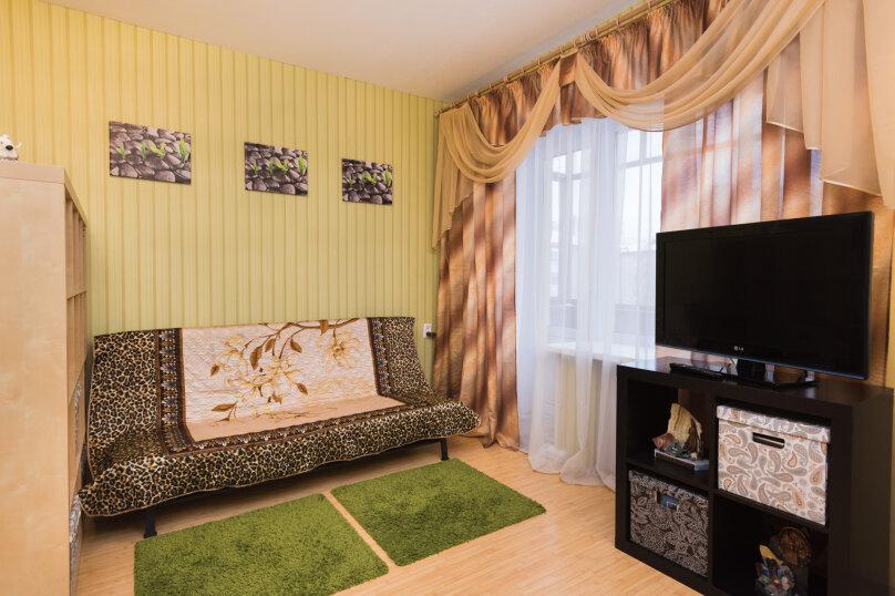 1-комн. квартира, 34 кв.м. на 4 человека, улица Попова, 25, метро Площадь 1905 года, Екатеринбург - Фотография 5