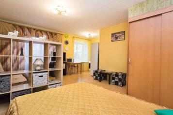 1-комн. квартира, 34 кв.м. на 4 человека, улица Попова, 25, Площадь 1905 года, Екатеринбург - Фотография 2