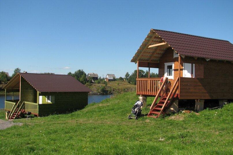Дом, 24 кв.м. на 4 человека, 1 спальня, Янишполе, Мережнаволок, Кондопога - Фотография 3