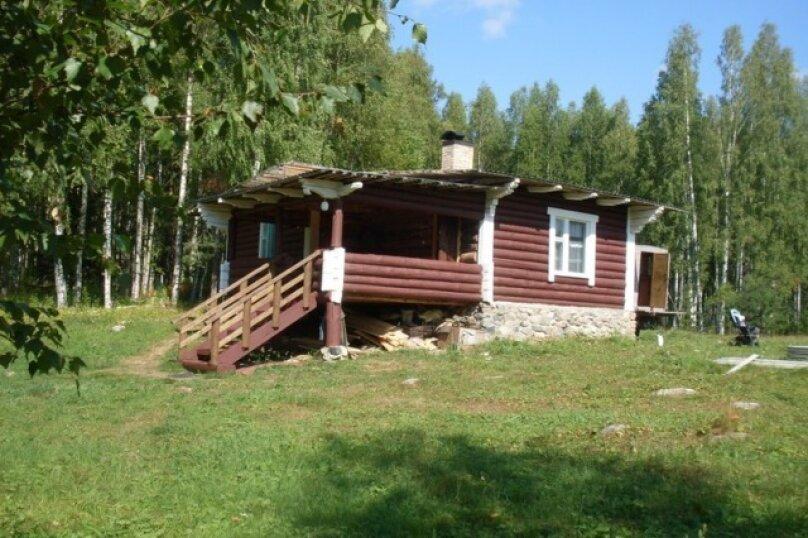 Дом на берегу оз.Салонъярви, 50 кв.м. на 5 человек, 1 спальня, Суоярвское лесничество, Квартал 56. Выдел А, Суоярви - Фотография 1