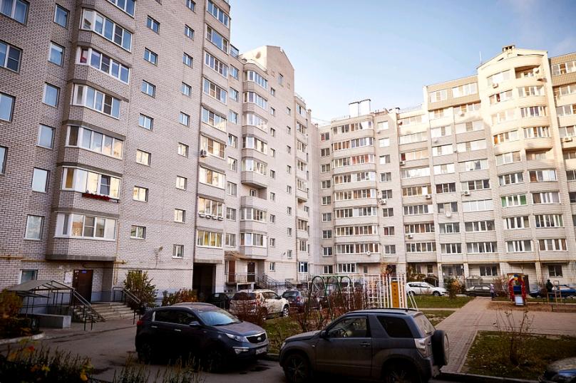 2-комн. квартира, 55 кв.м. на 4 человека, улица Пухова, 23А, Калуга - Фотография 4