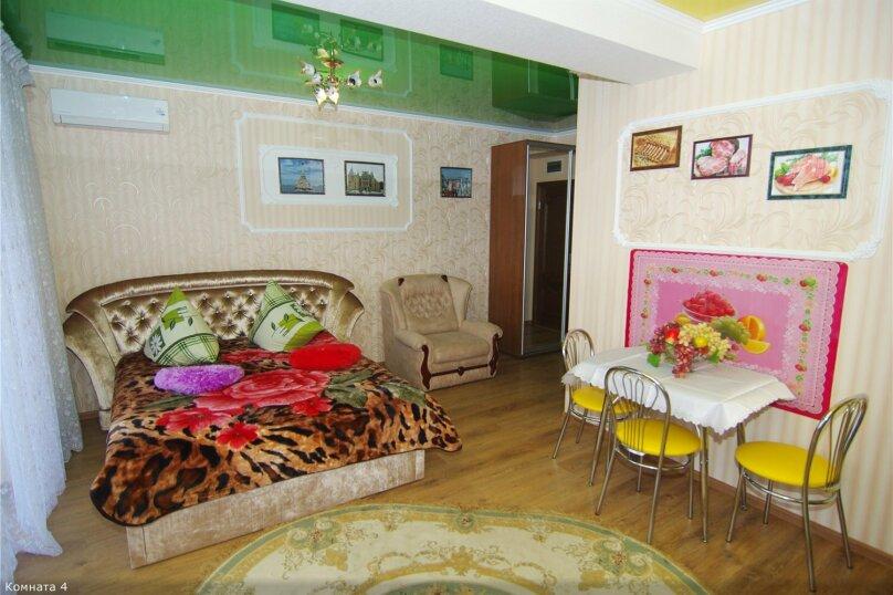 1-комн. квартира, 42 кв.м. на 3 человека, улица Саранчева, 34, Алушта - Фотография 7