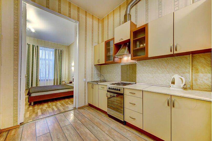 2-комн. квартира, 62 кв.м. на 4 человека, улица Некрасова, 38, метро Восстания пл., Санкт-Петербург - Фотография 12