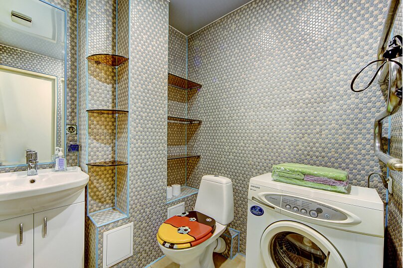 2-комн. квартира, 62 кв.м. на 4 человека, улица Некрасова, 38, метро Восстания пл., Санкт-Петербург - Фотография 16