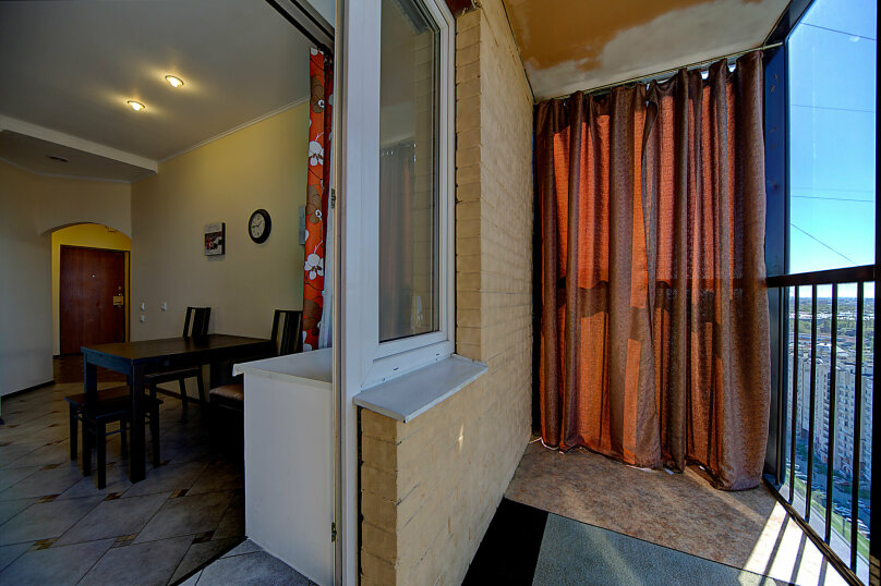 1-комн. квартира, 35 кв.м. на 4 человека, Коломяжский проспект, 15к1, метро Пионерская, Санкт-Петербург - Фотография 21