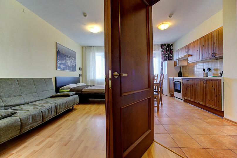 1-комн. квартира, 35 кв.м. на 4 человека, Коломяжский проспект, 15к1, метро Пионерская, Санкт-Петербург - Фотография 4