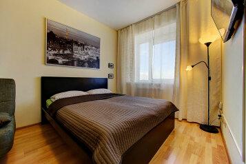 1-комн. квартира, 35 кв.м. на 4 человека, Коломяжский проспект, метро Пионерская, Санкт-Петербург - Фотография 1