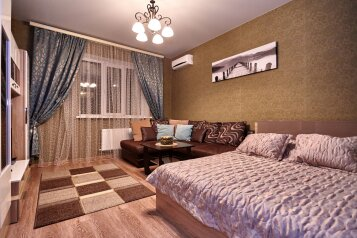 1-комн. квартира, 42 кв.м. на 2 человека, Кореновская улица, 21, Краснодар - Фотография 1