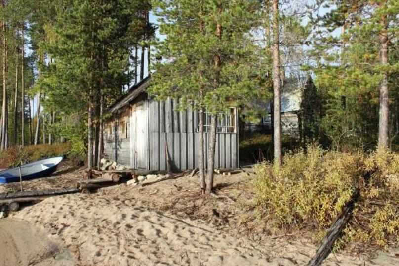 Дом у озера Тикшозеро, 32 кв.м. на 8 человек, 2 спальни, Муезерский , 5, Муезерский - Фотография 4