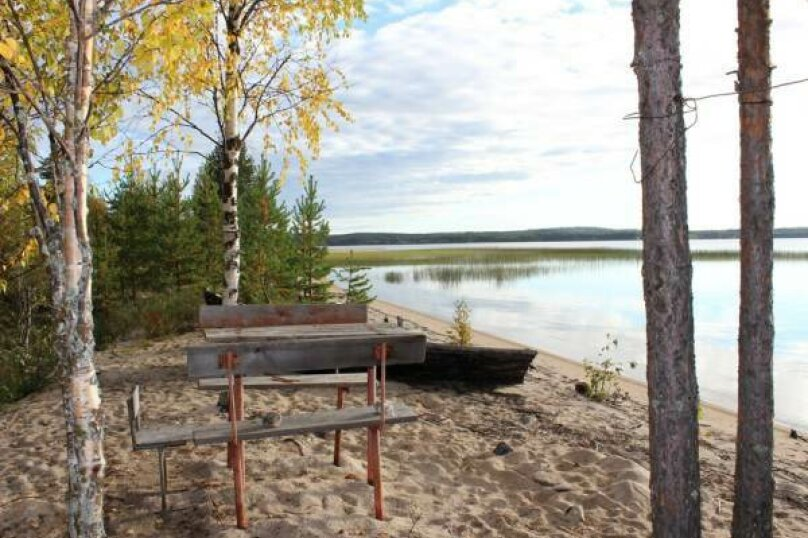 Дом у озера Тикшозеро, 32 кв.м. на 8 человек, 2 спальни, Муезерский , 5, Муезерский - Фотография 6