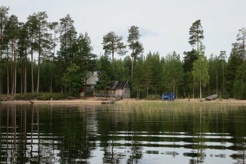 Дом у озера Тикшозеро, 32 кв.м. на 8 человек, 2 спальни, Муезерский , 5, Муезерский - Фотография 1