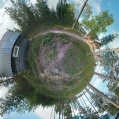Дом у озера Тикшозеро, 32 кв.м. на 7 человек, 2 спальни, Муезерский , Муезерский - Фотография 2