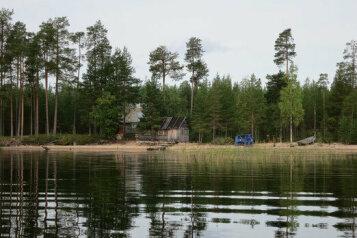 Дом у озера Тикшозеро, 32 кв.м. на 7 человек, 2 спальни, Муезерский , Муезерский - Фотография 1