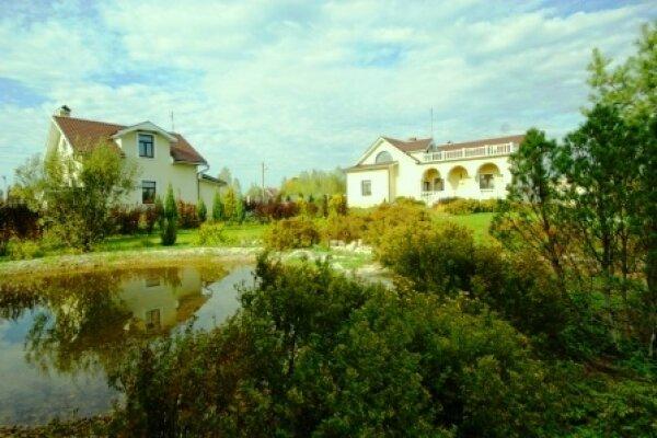 Дом у пруда, 500 кв.м. на 25 человек, 3 спальни