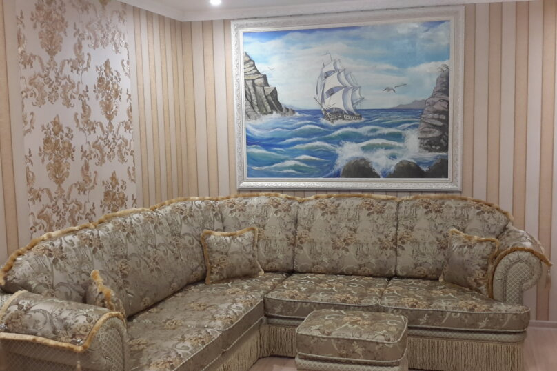 Шикарный 4х комнатный дом под ключ, 100 кв.м. на 8 человек, 3 спальни, Хасановская улица, 9, Динамо, Феодосия - Фотография 2