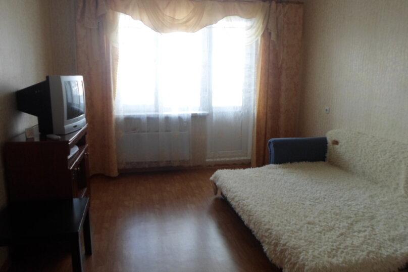 2-комн. квартира, 63 кв.м. на 4 человека, Смельчак, 15, Железнодорожный - Фотография 1
