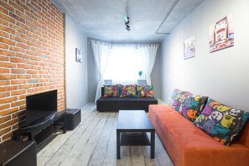 2-комн. квартира, 62 кв.м. на 7 человек, Набережная улица, 27, Долгопрудный - Фотография 1