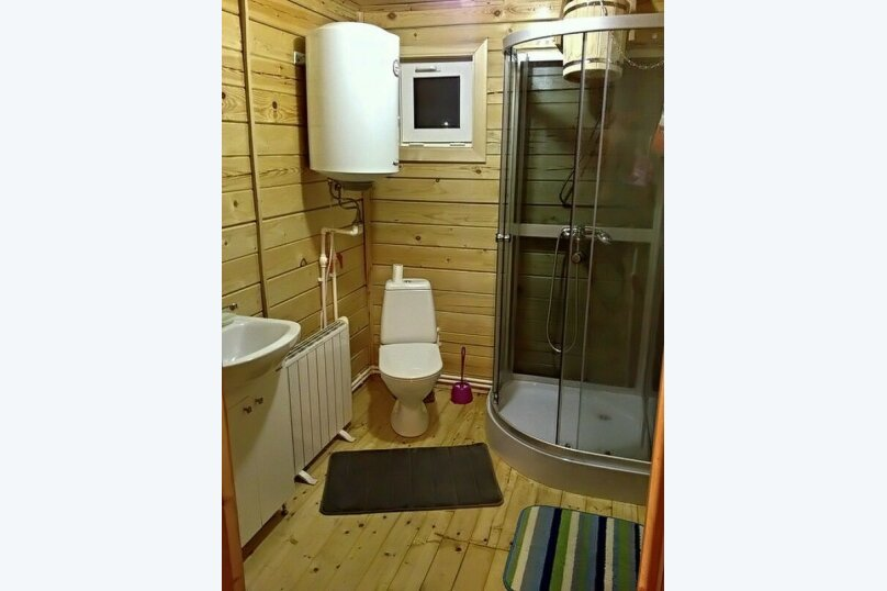 Дом с Русской Баней, 40 кв.м. на 6 человек, 2 спальни, Технологическая улица, 122, Икша - Фотография 10