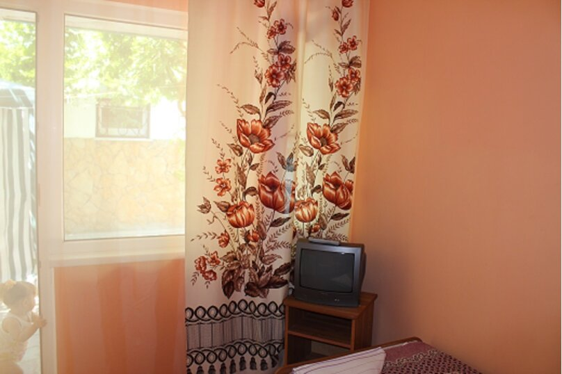 2-х местная комната, улица Кипарисовая, 15, Голубая бухта, Геленджик - Фотография 1