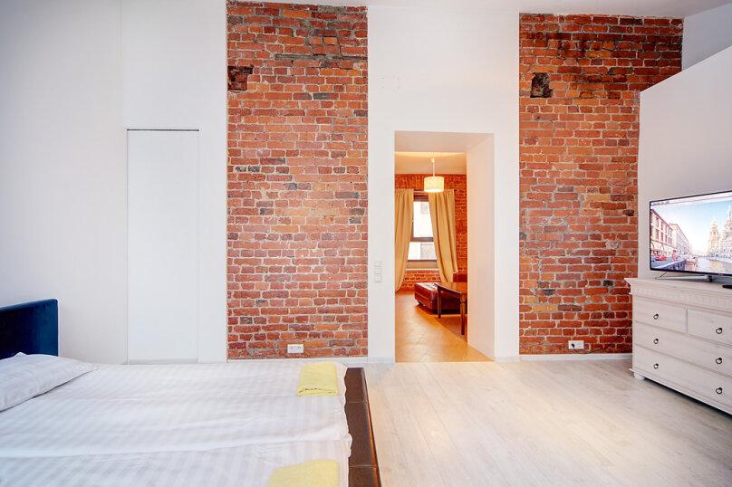 2-комн. квартира, 40 кв.м. на 4 человека, Миллионная улица, 23, Санкт-Петербург - Фотография 8