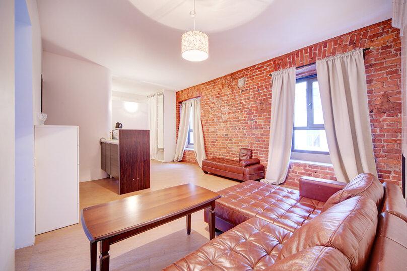 2-комн. квартира, 40 кв.м. на 4 человека, Миллионная улица, 23, Санкт-Петербург - Фотография 10