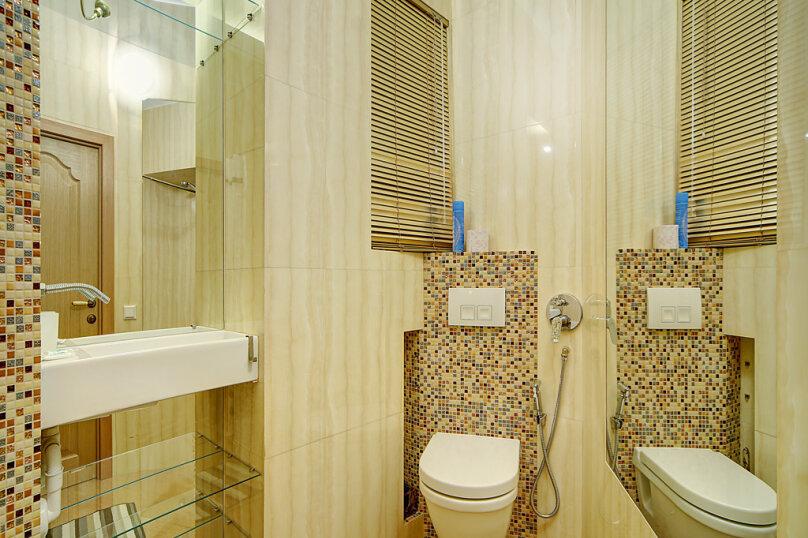 2-комн. квартира, 40 кв.м. на 4 человека, Миллионная улица, 23, Санкт-Петербург - Фотография 13