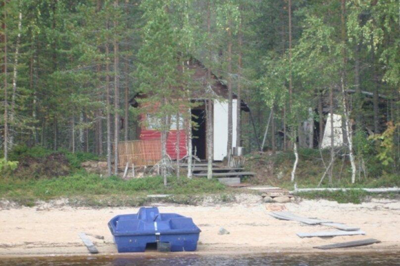 Дом на берегу лесного озера, п. Муезерский, 40 кв.м. на 5 человек, 3 спальни, Октябрьская, 37, Муезерский - Фотография 4