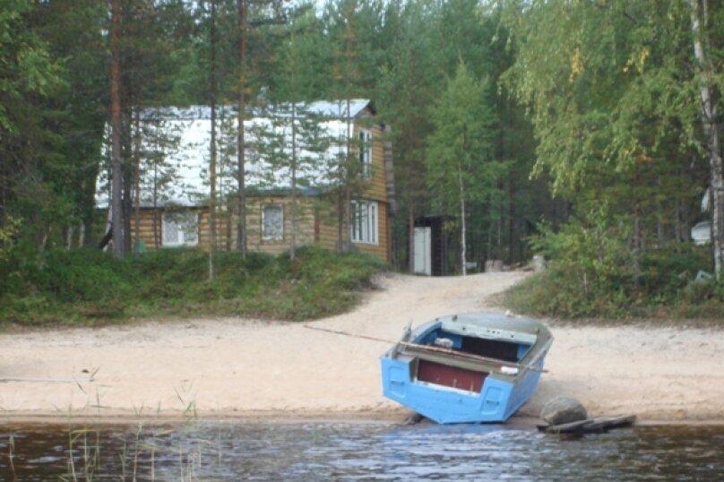 Дом на берегу лесного озера, п. Муезерский, 40 кв.м. на 5 человек, 3 спальни, Октябрьская, 37, Муезерский - Фотография 5
